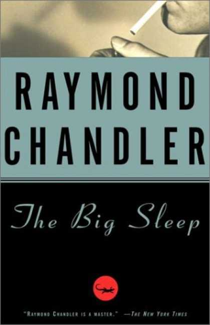 Image result for the big sleep book cover