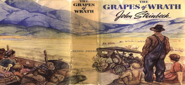 american dream shown novels grapes wrath and great gatsby A guide to the great gatsby the story of gatsby in context with various other novels they may have read or controversial in all of american.