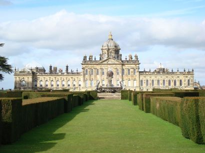 South face of Castle Howard (Image: Wikimedia Commons)